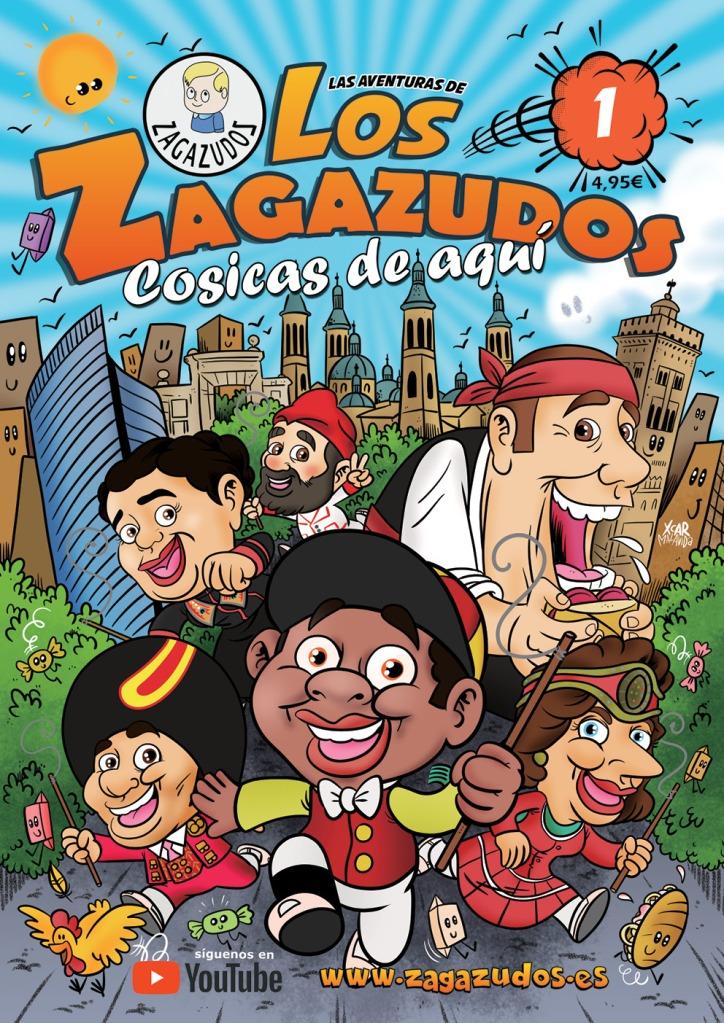 """Portada del cómic """"Los Zagazudos: cosicas de aquí"""", de XCAR Malavida."""