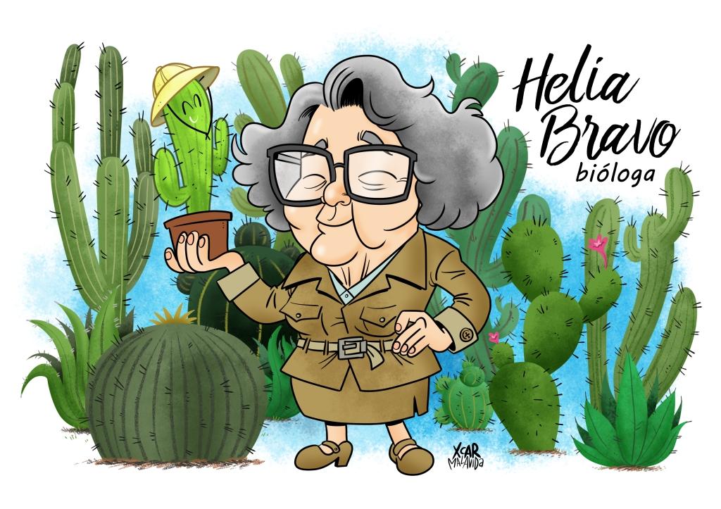 Dibujo de Helia Bravo realizado por XCAR Malavida